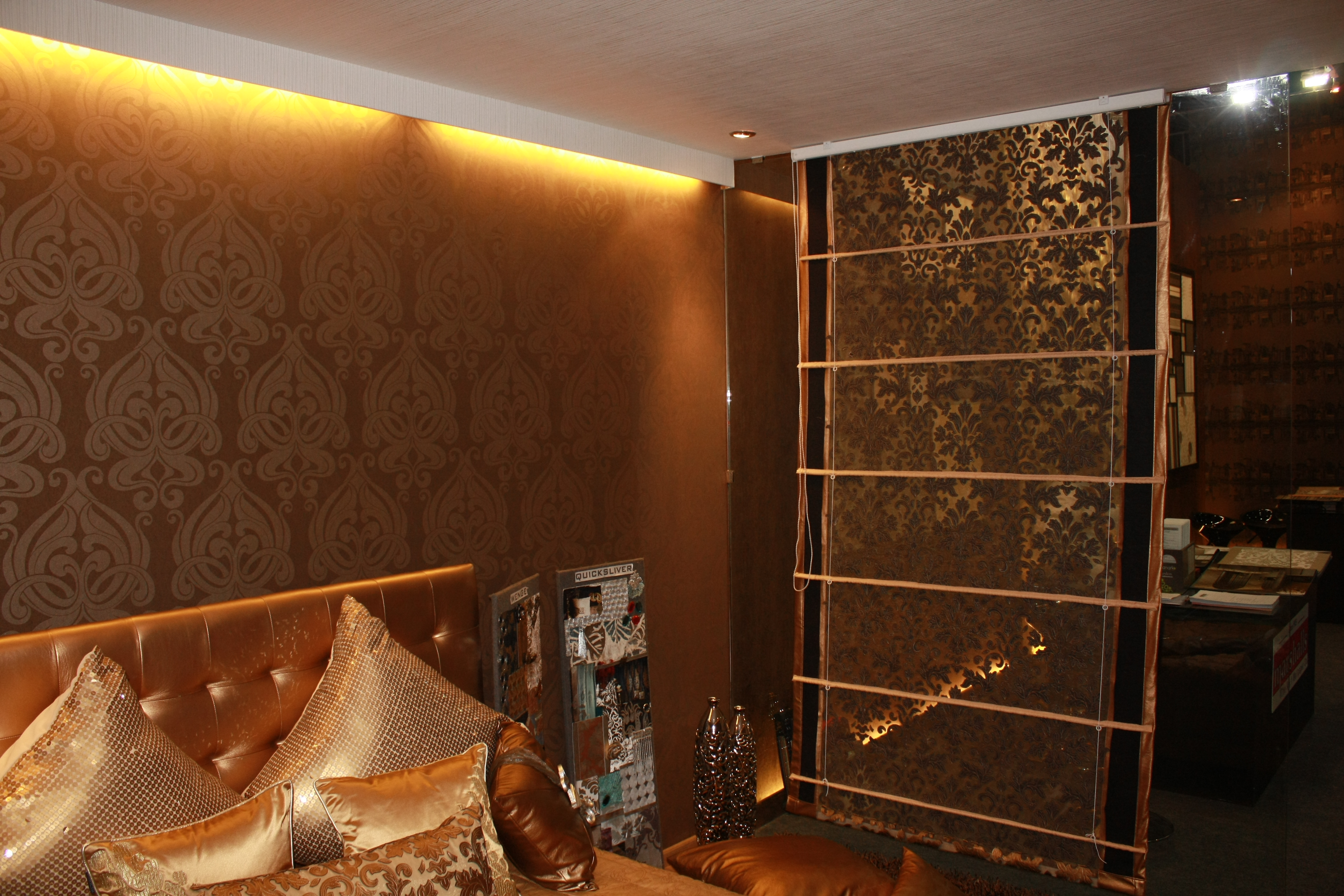 Exhibition Stall Styles : Marshalls wallpapers exhibition at bkc happy walls